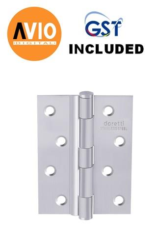 "DORETTI DHGA432SS HINGE 4"" X 3"" X 2.0MM ALUM USE"