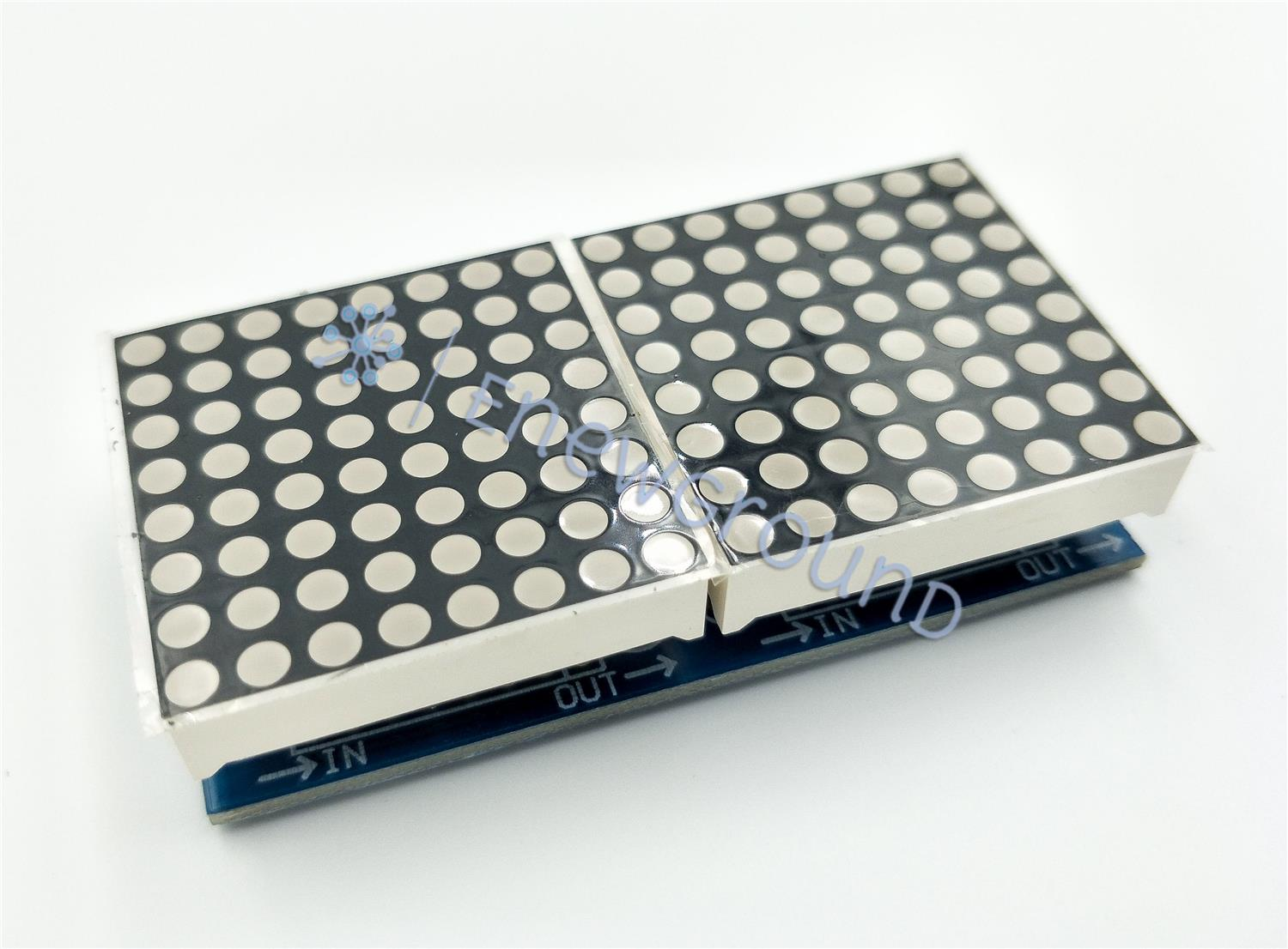 Dot matrix module (2x8x8, MAX7219)