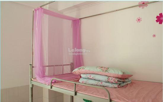 Double Decker Push Forward Style Mosquito Net