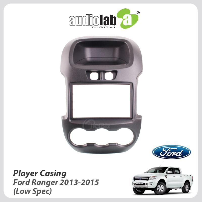 Double Din Car DVD Player Casing For Ford Ranger 2013-2015 (Low Spec)