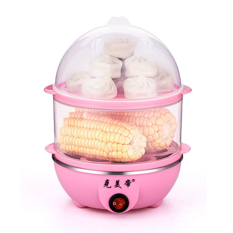 New Double Function Boiled Steamer Steel Egg Making Machine