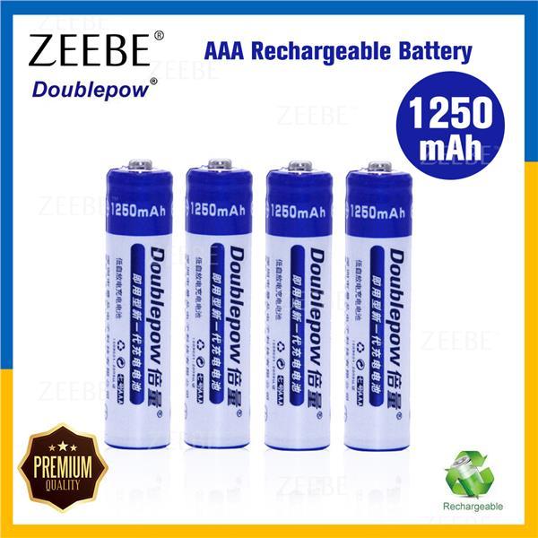 Doublepow Rechargeable 1250 Mah Nimh End 8262019 215 Pm