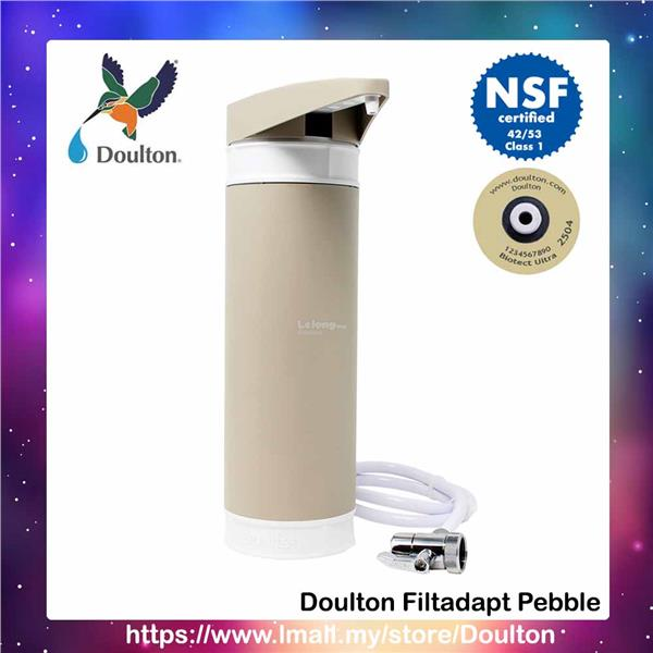 Doulton Filtadapt Pebble, Counter-Top system complete BioTect Ult