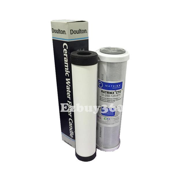 doulton obe ceramic water filter matrikx extruded carbon - Ceramic Water Filter