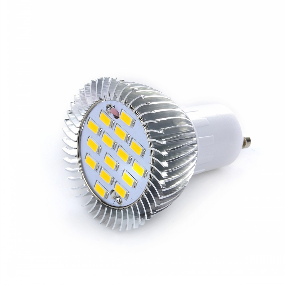 Downlights - Lexing Lighting Gu10 5w 350lm 15 Leds Smd-5730 Ac/85-265v..