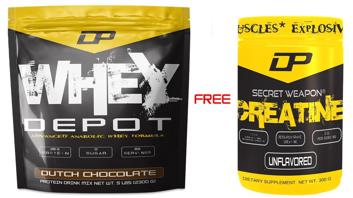 Top 10 Whey Protein 2020.Dp Whey Depot 10lbs Protein Free Dp Secret Weapon Creatine 300g