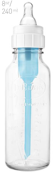 Dr. Brown's Natural Flow ® Standard Glass Bottle 240ml