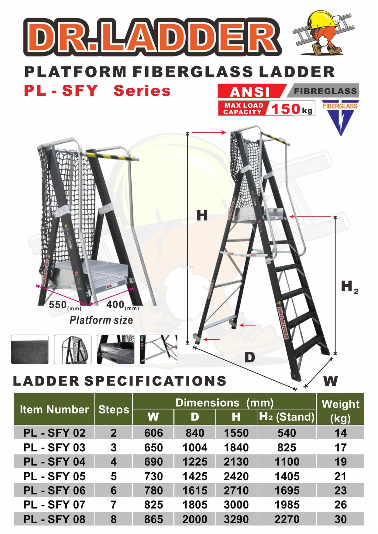 Dr Ladder Fibreglass Platform Ladde End 10 27 2018 1 15 Pm