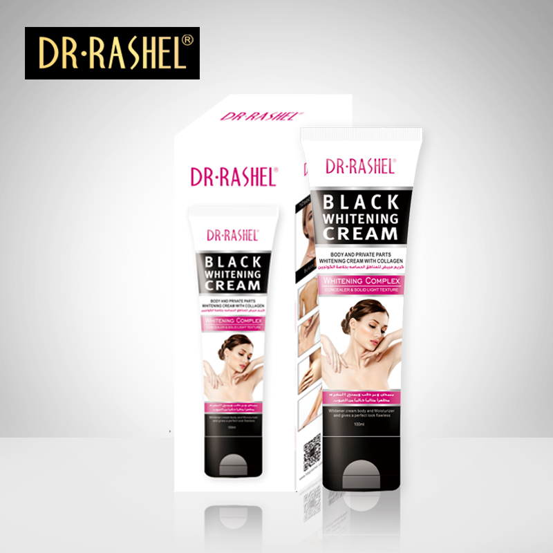 Dr-Rashel Black Whitening Cream Body And Private Part With Collagen