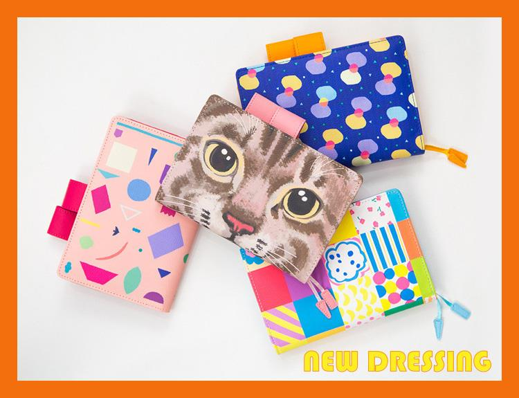 DR029 - A5/A6 Assorted Patterns Refillable Diary/Notebook