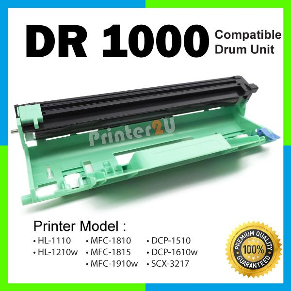 DR1000 Drum Unit Kit TN1000 HL1110 HL1112 DCP1510 DCP1512 MFC1810 1910