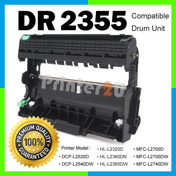 DR2355 TN2380 Compatible Brother HL-L2300D L2320D L2360DN L2365DW Drum
