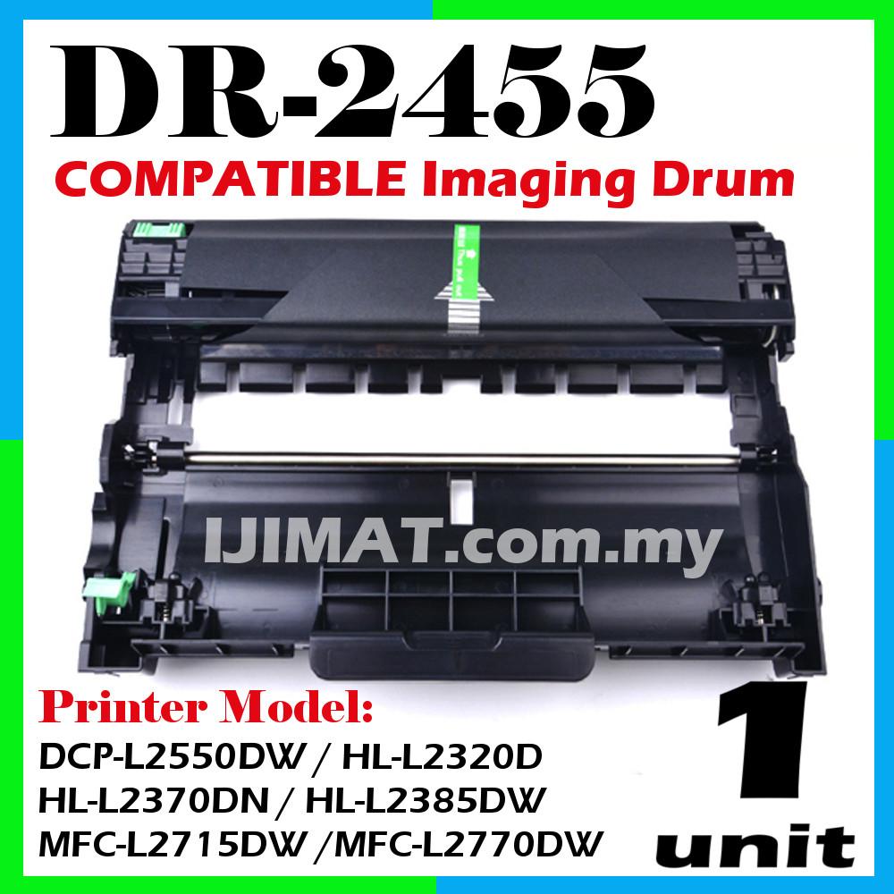 DR2455 DR-2455 Drum ONLY DCPL2535dw DCPL2550dw MFCL2715dw MFCL2750dw. ‹ ›