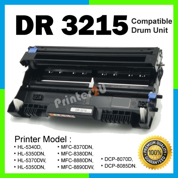 DR3215 Drum Unit Compatible Brother HL-5340D 5350DN 5370DW 5350DN Kit