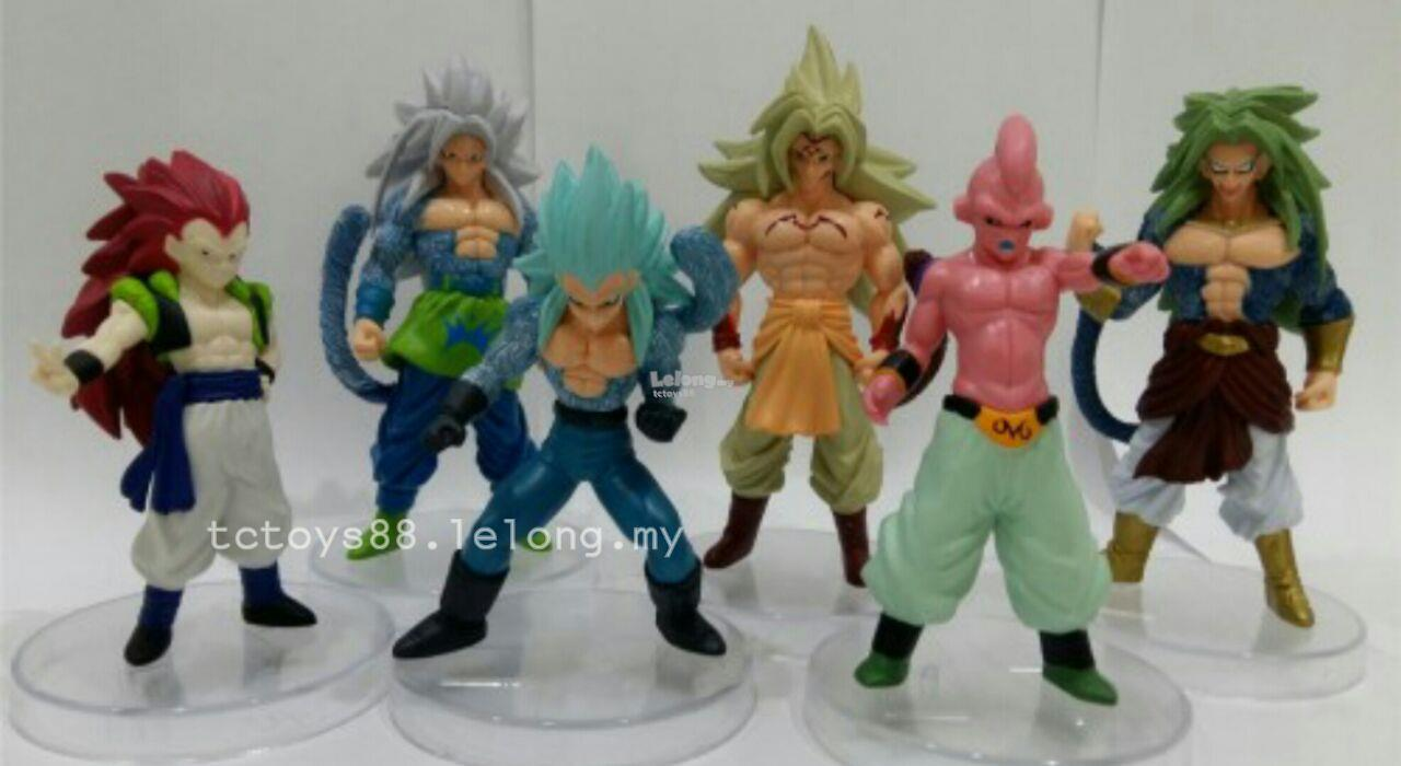 Dragon Ball Figure. Dragon Ball Z figurine. (6 pcs). SET DB04