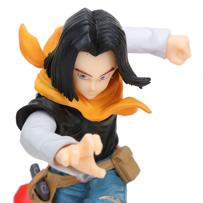 Dragon Ball SUPER The Android Battle Android 17 Lapis PVC Figure 17cm