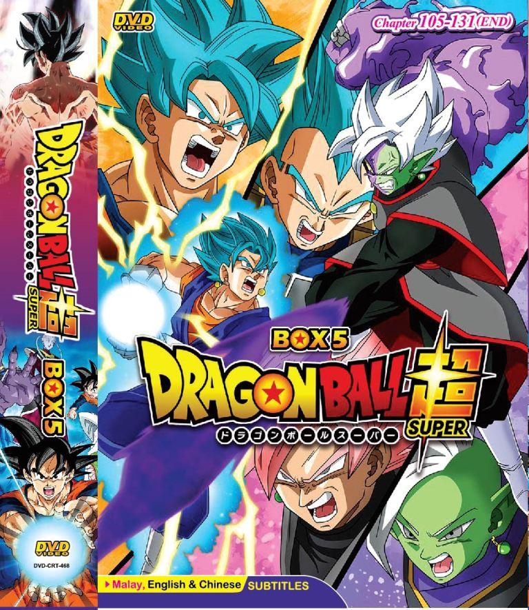 Dragon Ball Super Box 5 Vol 105 131end Anime Dvd