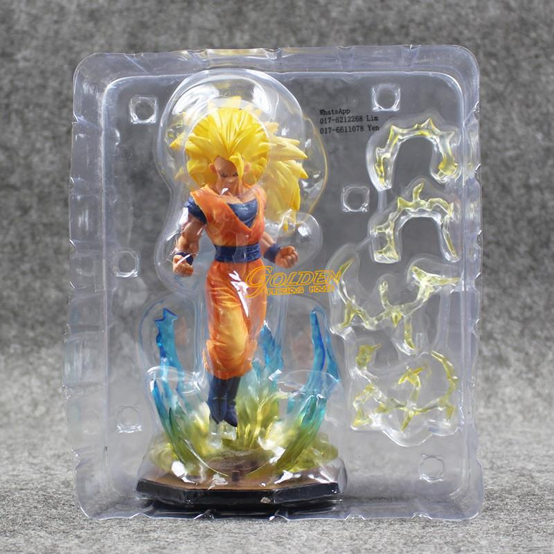 Dragon Ball Z Zero Super Saiyan 3 Son Goku Action Figure 18cm