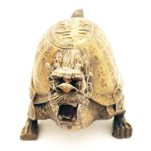 "Dragon Tortoise with ""Sau"" for Success and Longevity - Small"