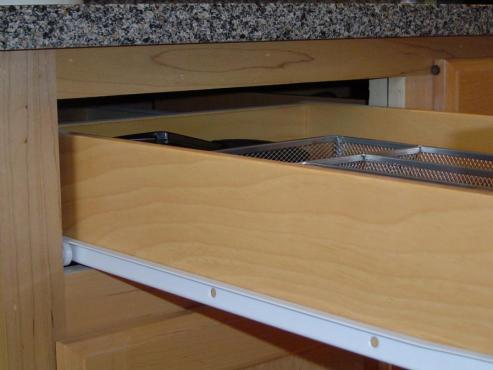 "Drawer Rail (Drawer Slide) (one pair set) 14 ""-20 """