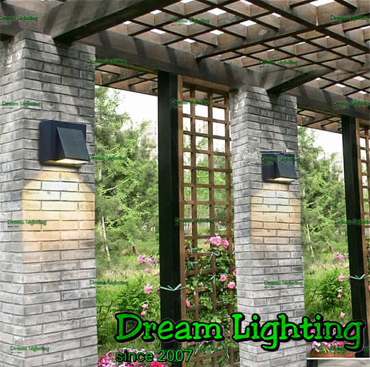 Dream Lighting / 1way LED 1x3Watts / UP DOWN LIGHT / B / Black / Warmw
