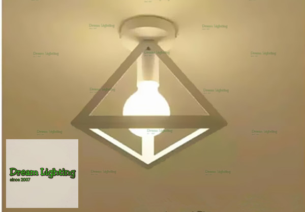 Dream Lighting / Pyramid / Ceiling Lamp / White