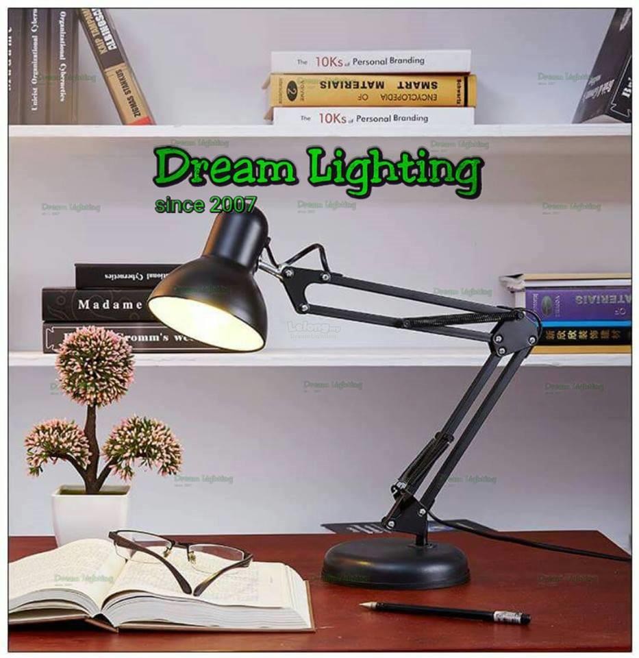 Dream Lighting Study Architecture Desk Lamp Black