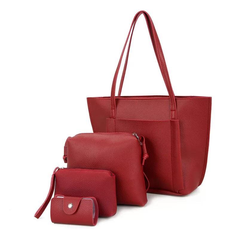 39adae14b6f Dreamtale 4 in 1 Women Fashion Korea Fashion Extra Large Tote Bag. ‹ ›