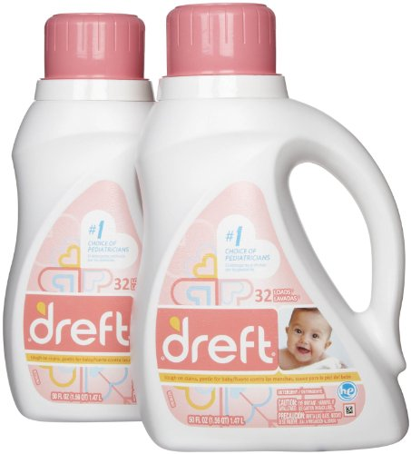 Dreft Stage 1 Newborn HE Baby Laundry Detergent - 50 oz - 2 pk/from USA
