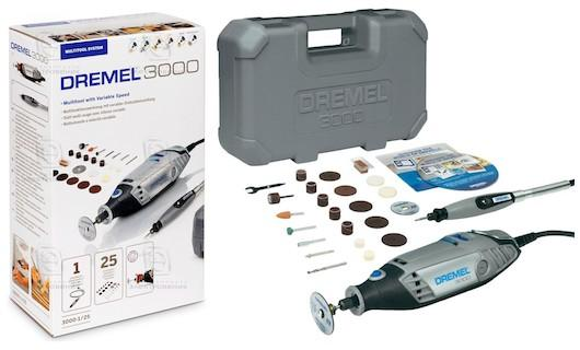 Dremel 3000 multi tool with 25 accessories, DIY Power tools set