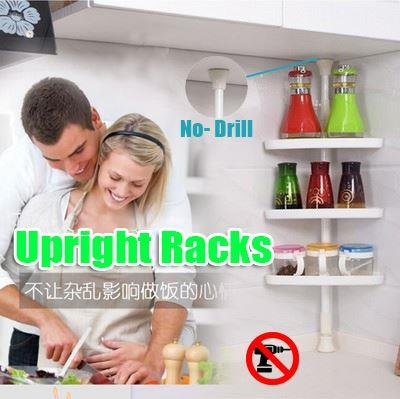 No - Drill UPRIGHT RACKS