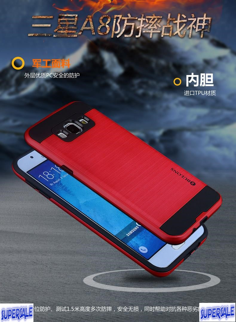 Drop Proof Armor Casing Case Cover for Samsung A8 (2015 Model A8000)