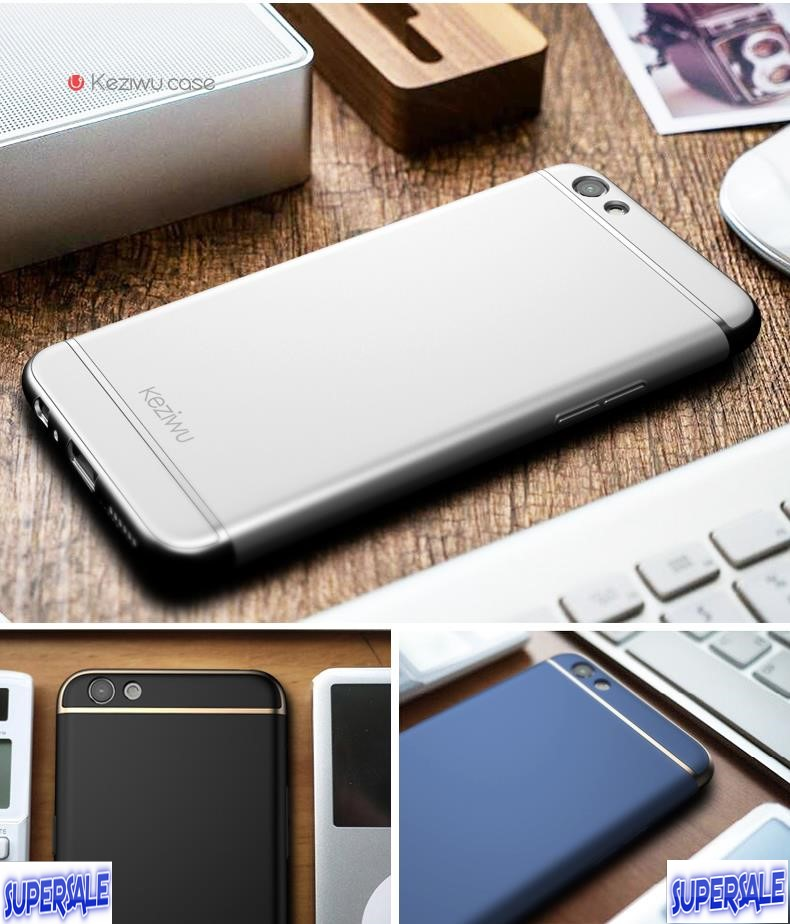 Drop Proof Metal Like Hard Casing Case Cover for Oppo F1 Plus (aka R9)