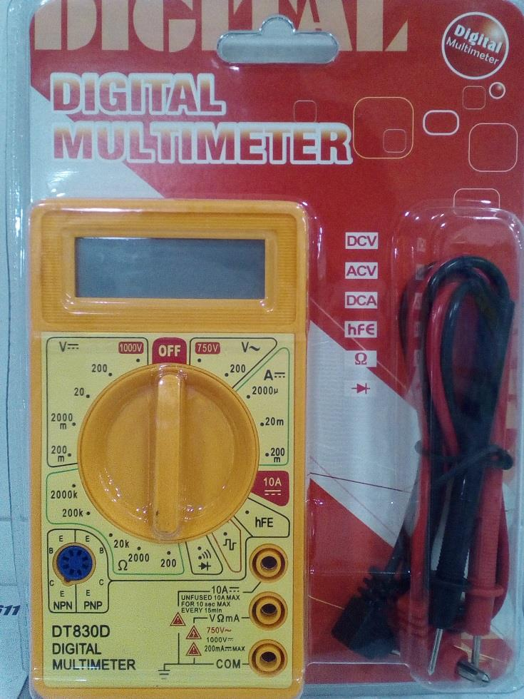 DT-830D Pocket Size Digital Multimeter