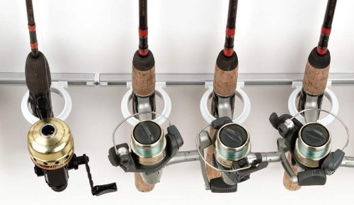 DU-BRO Fishing Trac-A-Rod Plus Storage System