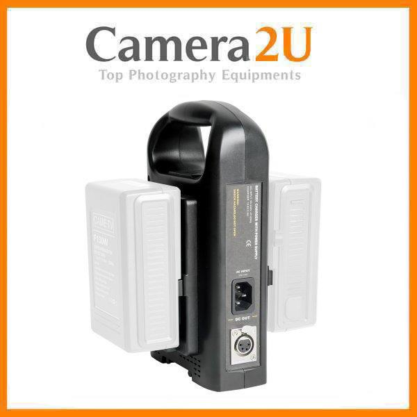 Dual Battery Charger / Twin Charger for V-Mount Vmount Battery