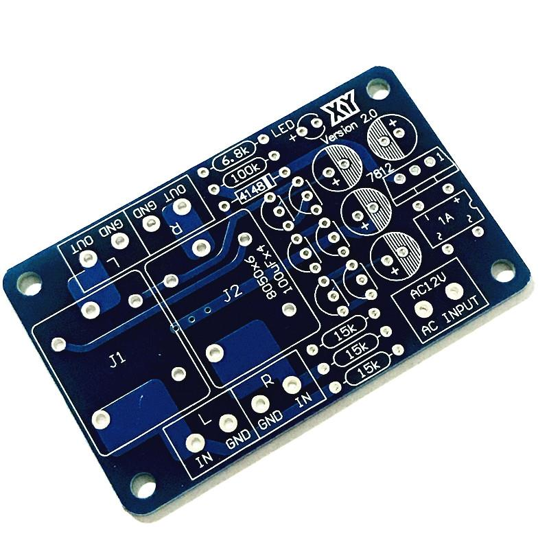 Dual-channel Stereo Audio Amplifier Speaker Protection Board Component