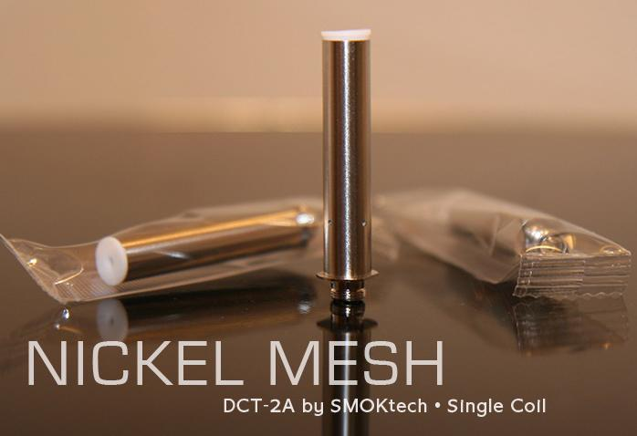NOW DUAL COIL SMOK DCT-2-A bottom heating Dual coil Replacement 2.0ohm