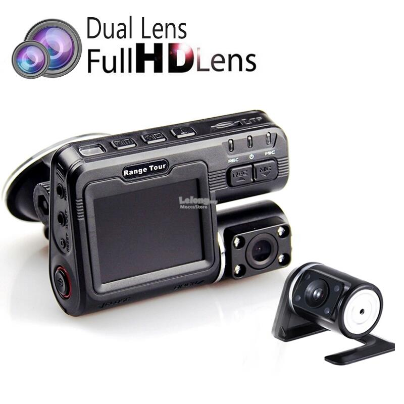 Dual Camera Car Dash Cam