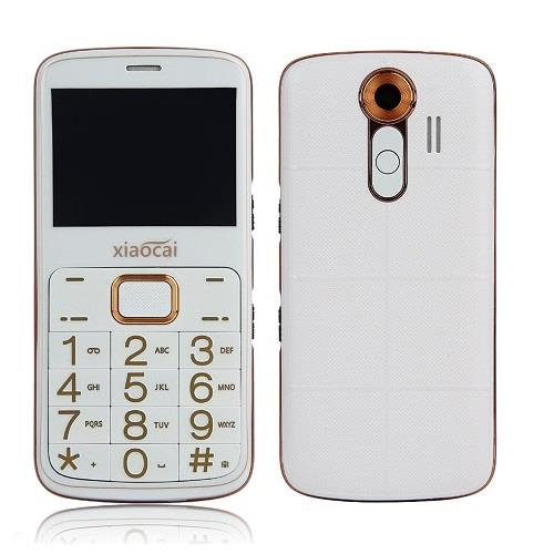 Dual Sim Senior Phone With Flashlight, GPS, SOS (WP-A600).