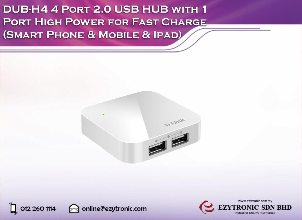 Dub H4 4 Port 20 Usb Hub With 1 Por End 8 16 2018 915 Am Targus 4port Real High Power For Fast Charge
