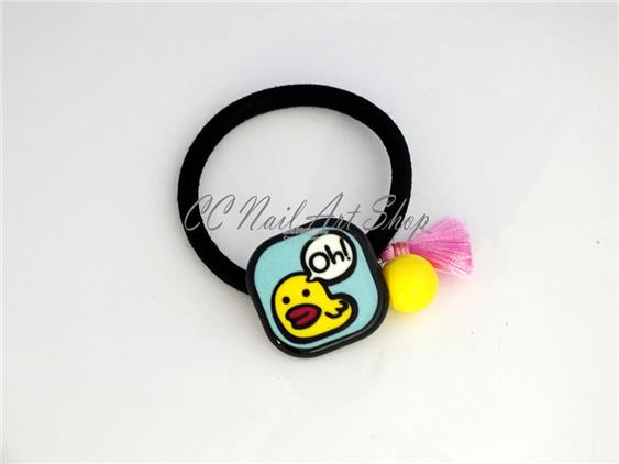 Duckling Duck Cute Hair Band Accessories Fashion Toy Keychain Bracelet