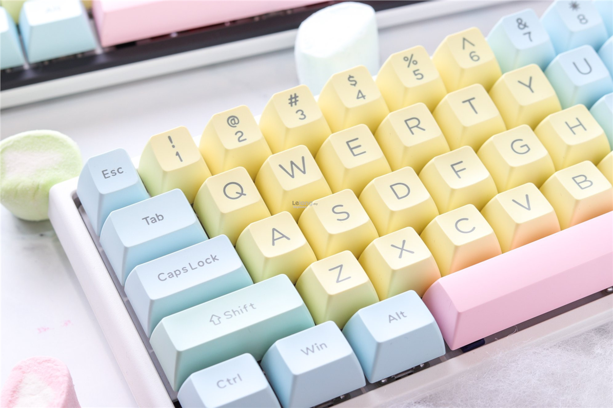 # DUCKY 108-Key ABS Doubleshot SA Keycap Set - Cotton Candy #