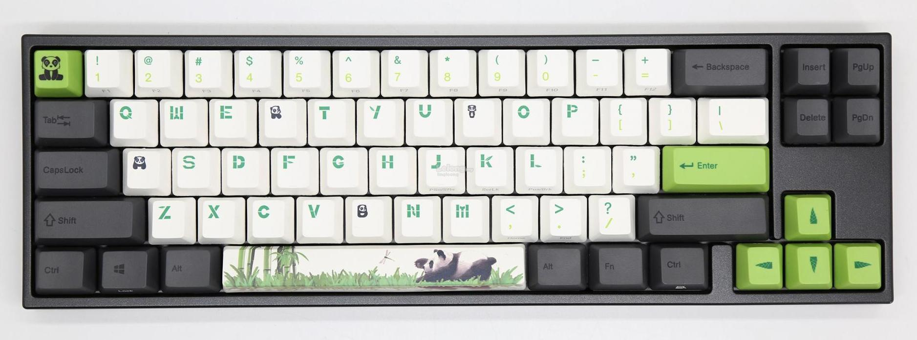 # DUCKY Miya Pro Panda 65% Mechanical Keyboard # 4 Cherry MX Switch