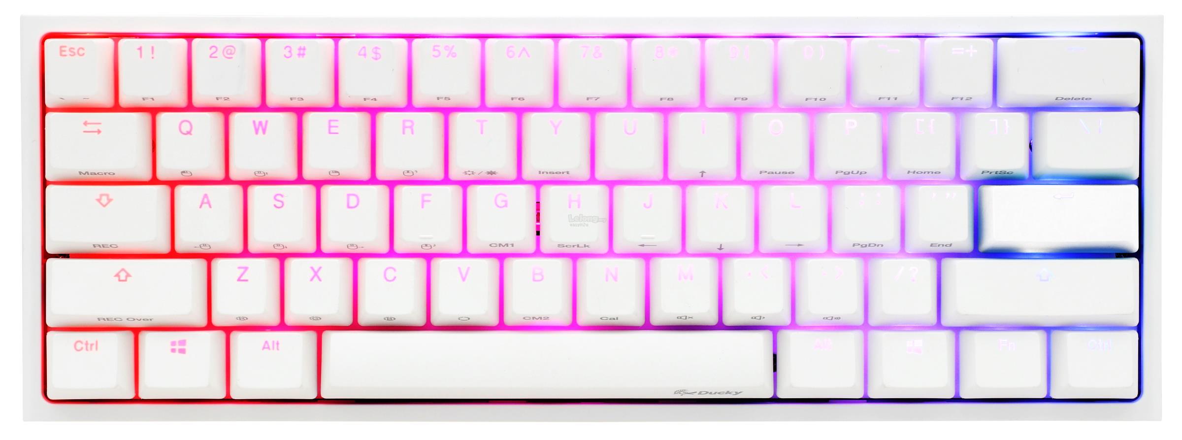 DUCKY ONE 2 MINI RGB MECHANICAL KEYBOARD - WHITE