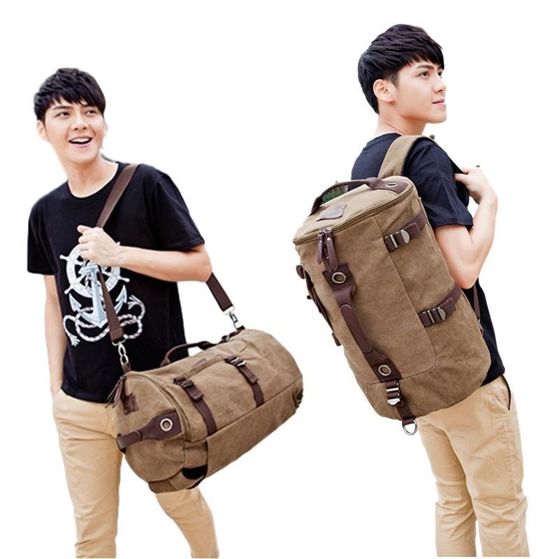 bda1edf7c527 Duffel Bag Convertible Backpack Multipurpose 3 in 1 Travel Luggage