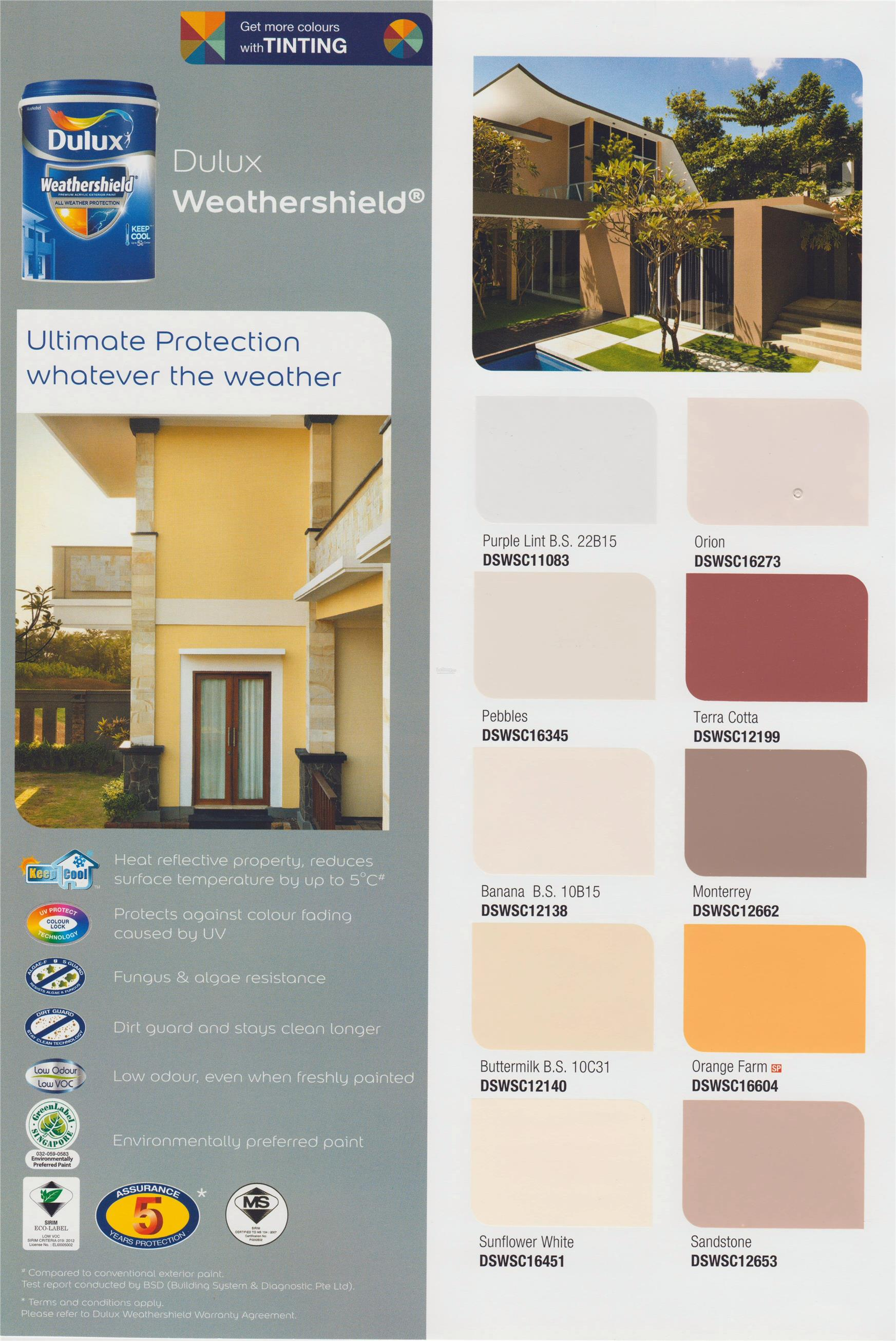 Dulux Paint Weathershield 5L Exterior Paint