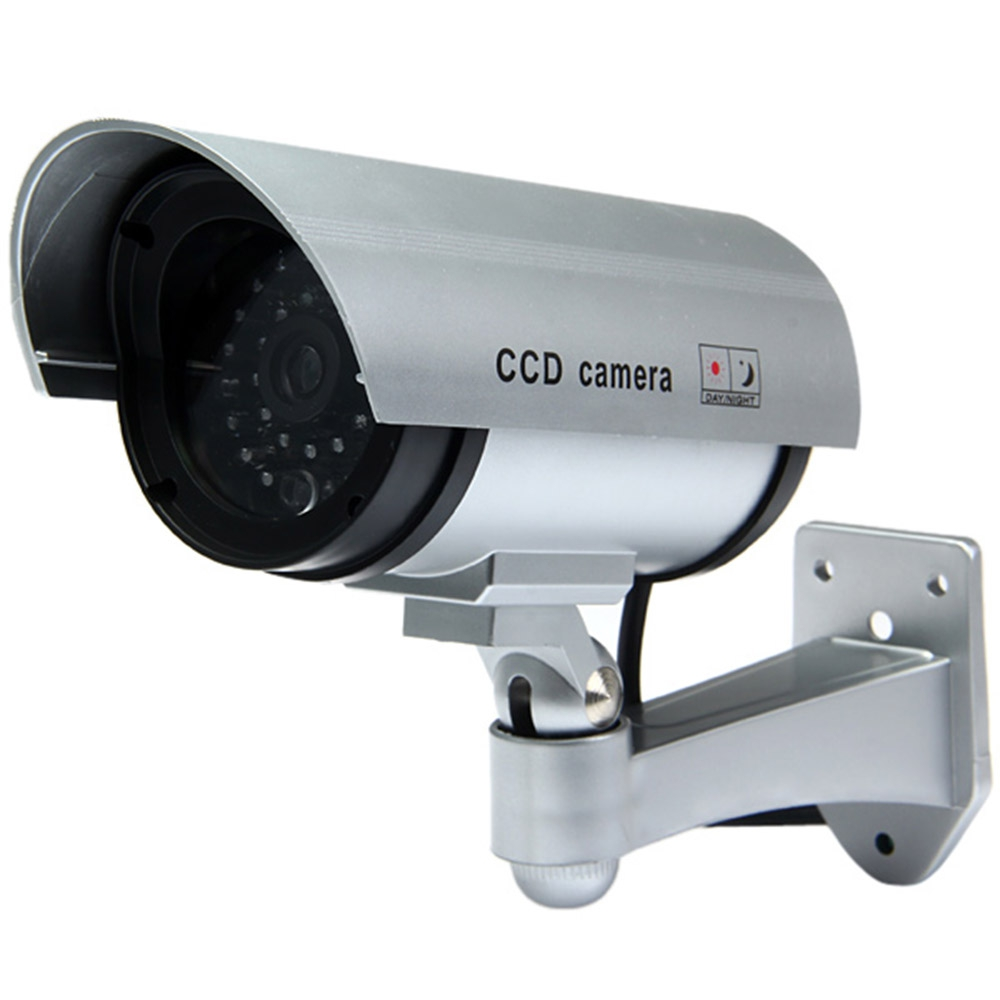 dummy cctv ccd ir camera with red l end 8 21 2020 10 46 pm. Black Bedroom Furniture Sets. Home Design Ideas