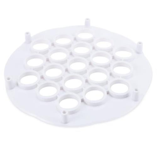 DUMPLING MOLD MACHINE PASTRY TOOL 19 HOLES (WHITE)