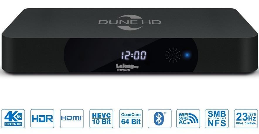 Dune HD Pro 4K 4Kp60 HDR media player Smart TV box